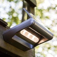 Dimmable Mini LEDSpot LED solar ext  wall light