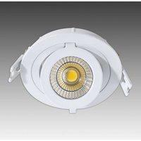 Bright Como LED recessed spotlight   round