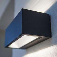 Nomra two sided illuminating LED outdoor wall lamp