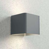 Anthracite Dodd LED wall light