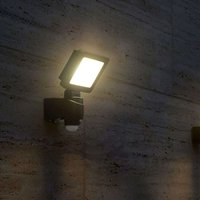 Bright Nebraska LED outdoor spotlight with sensor