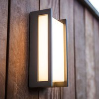 Linear Qubo LED outdoor wall lamp