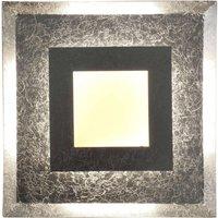 Window LED wall light 39 x 39 cm  silver