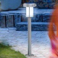 Ancona   LED solar light made of stainless steel