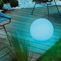 Decorative spherical solar lamp Mega Ball 40 cm