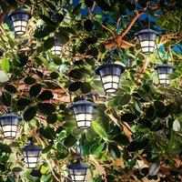 LED solar string light Asia Style