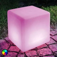 LED solar cube Mega Cube  colour change function