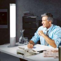 Flicker free table lamp WellFit OVAL