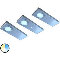 3 set Tain LED under cabinet light colour switch