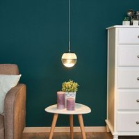 Montefio One Lamp LED Pendant Lamp with Crystal