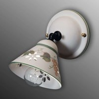 Ceramic wall light Vigna
