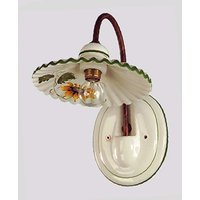 Ceramic wall light Rusticana
