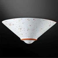 Caroline wall light with terracotta details