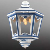 In lantern form   large hanging light Solene