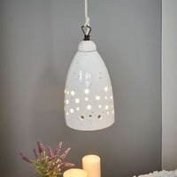 Ceramic hanging light Gisella  downlight