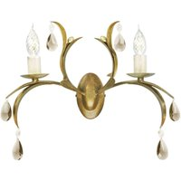 Lily Wall Light Playful Bronze Metallic