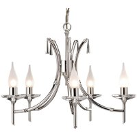 Brightwell Chandelier Five Bulbs
