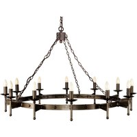 Cromwell Chandelier Medieval Twelve Bulbs