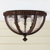 Regent Court Outside Ceiling Light Rustic