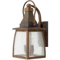 Montauk Wall Light Solid Brass Two Bulbs