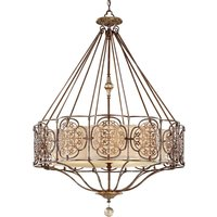 Marcella Hanging Light Ornate 81 cm