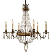 Bellini   Chandelier with Antique Effect