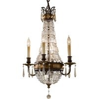 Bellini Chandeliers Small Four Bulbs