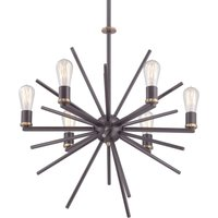 Unique 6 bulb hanging light Carnegie