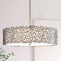 Silver Coral hanging light  55 9 cm