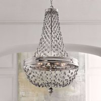 Malia crystal glass chandelier