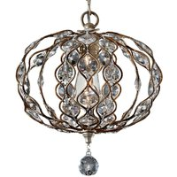 Small crystal chandelier Leila