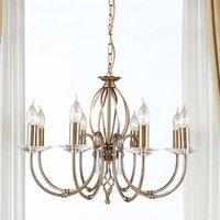 8 light chandelier Aegean