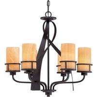 6 light chandelier Kyle