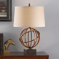 Well designed fabric table lamp Spencer