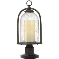 Country style pedestal light Quincy