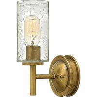 Collier   stylish wall light in antique look