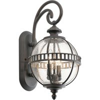 Elaborately designed Halleron outdoor wall light