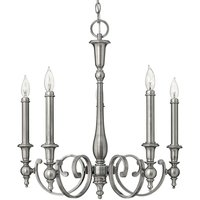Chandelier Yorktown in antique design five bulb