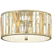 Pretty crystal ceiling lamp Gemma
