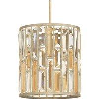 Glamorous crystal hanging lamp Gemma