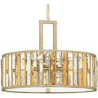 Glittering pendant lamp Gemma   54 cm