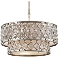 Two storey lampshade   pendant light Lucia