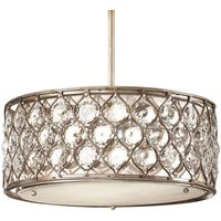 Exquisite crystal hanging light Lucia large