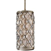Lucia   small pendant light with crystals