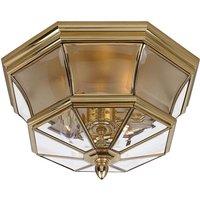 Spray water protected ceiling lamp Newbury