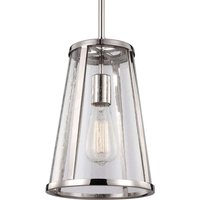 Pendant lamp Harrow with a rigid suspension system