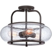 Diameter 40 6 cm   semi flush ceiling lamp Trilogy