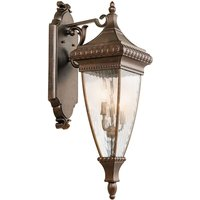 Ornate Venetian Rain lantern wall light