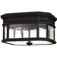 Angular Cotswold Lane ceiling lamp for outdoors