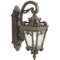 Historic style Tournai outdoor wall light